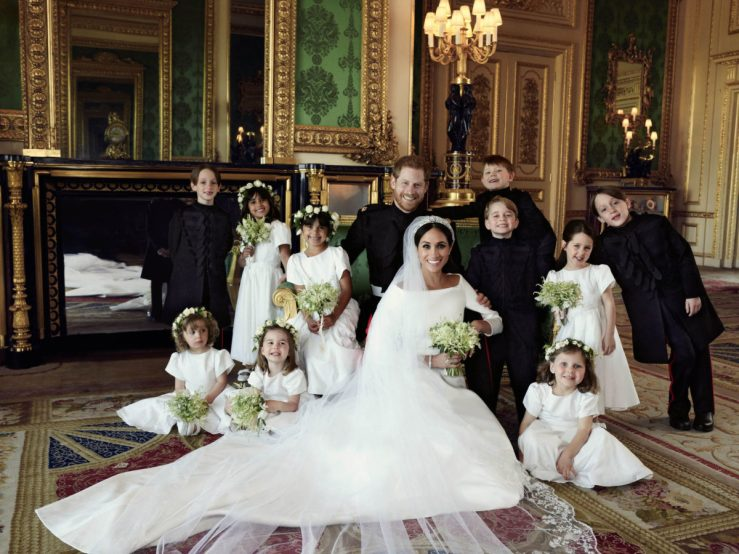 Official Wedding Portraits of Prince Harry and Meghan Duchess of Sussex Released by the Palace